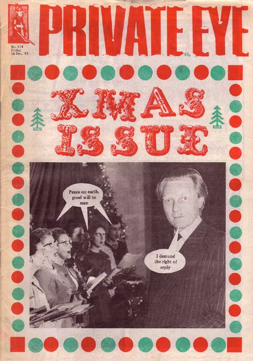 Michael Heseltine Christmas