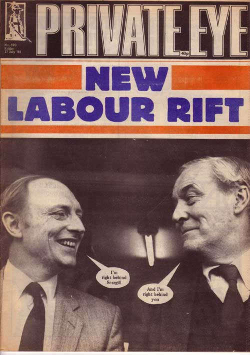 Neil Kinnock Tony Benn