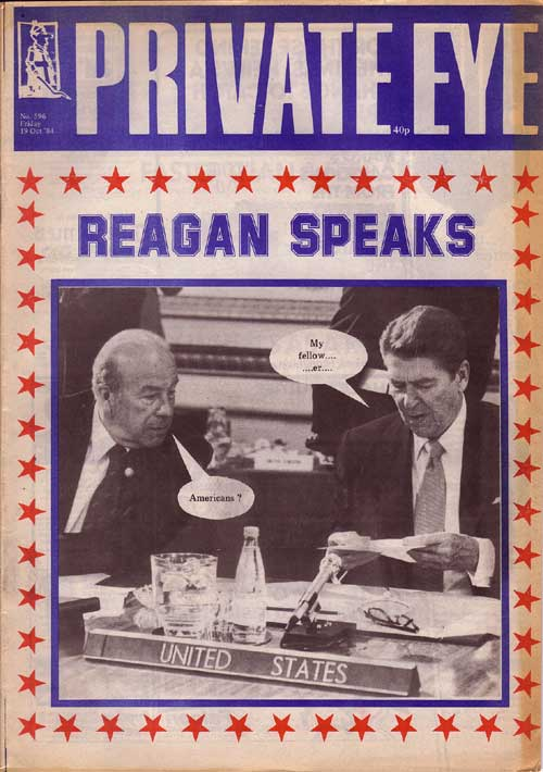 Ronald Reagan George Shultz