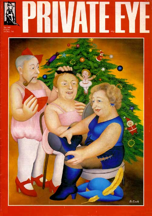 Tony Benn Neil Kinnock Margaret Thatcher Christmas