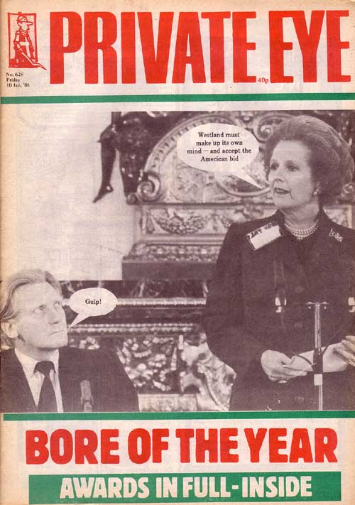 Margaret Thatcher Michael Heseltine