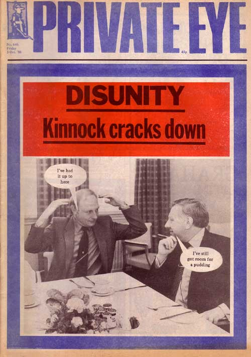 Neil Kinnock Roy Hattersley