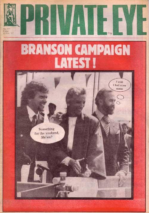 Richard Branson Princess Michael of Kent Prince Michael of Kent