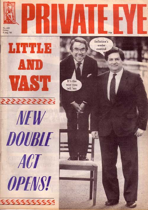 Ronnie Corbett Nigel Lawson