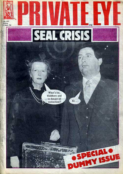 Margaret Thatcher Nigel Lawson