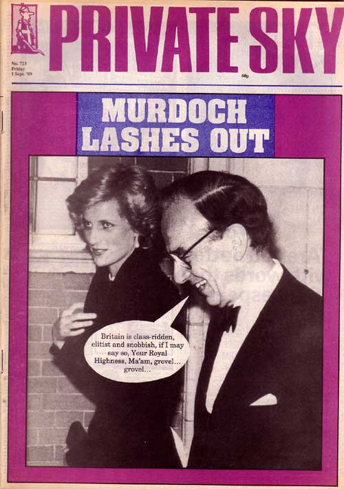 Rupert Murdoch Princess Diana