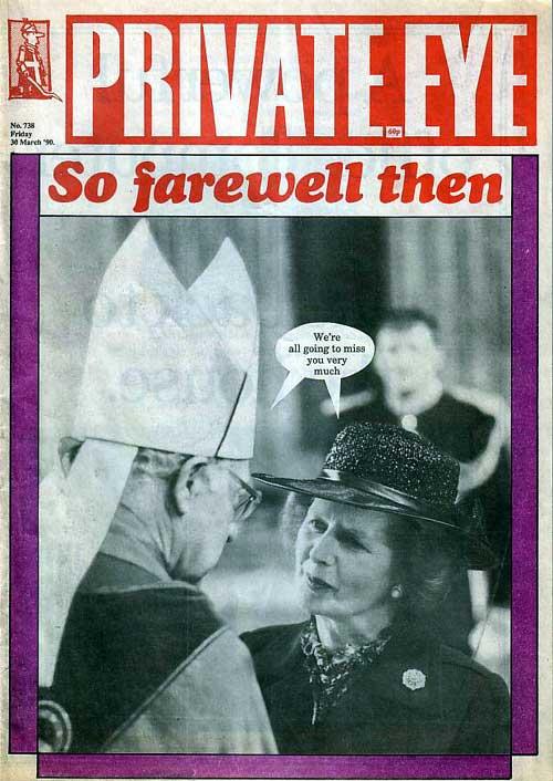 Robert Runcie Margaret Thatcher