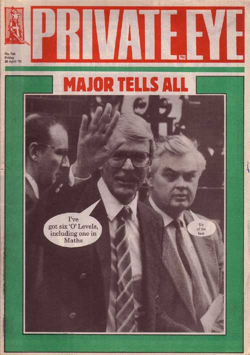 John Major Norman Lamont