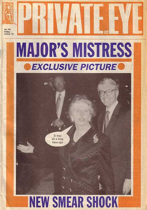 Margaret Thatcher John Major