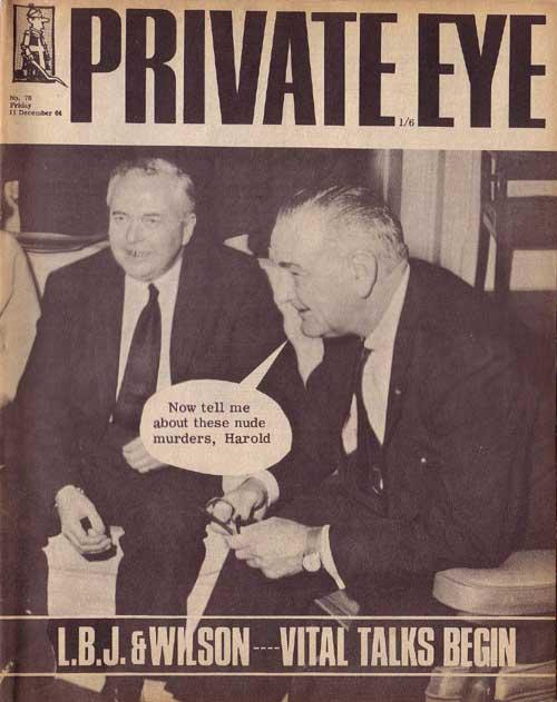 Harold Wilson Lyndon B Johnson