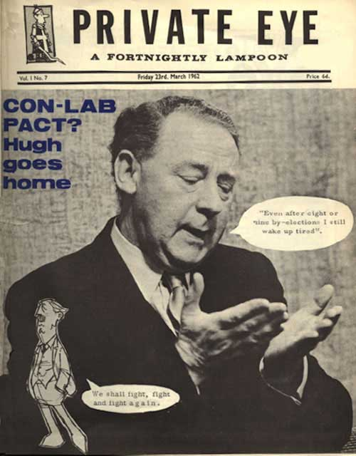 Hugh Gaitskell Harold Macmillan