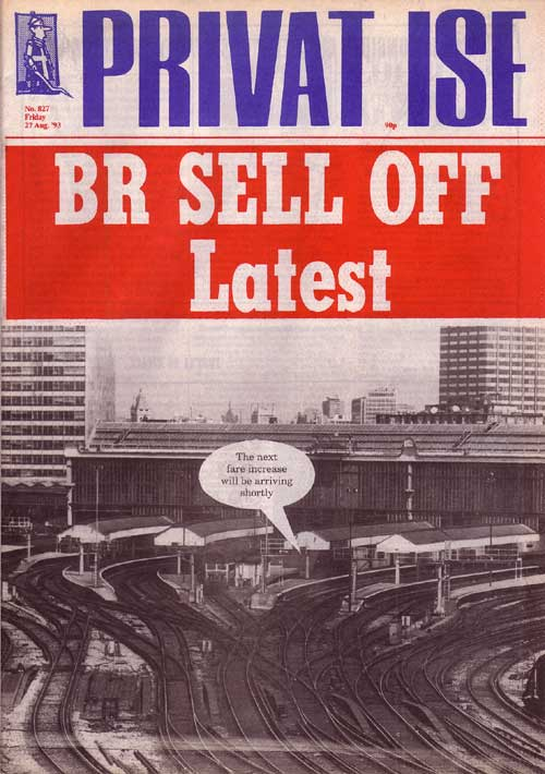 Rail Privatisation