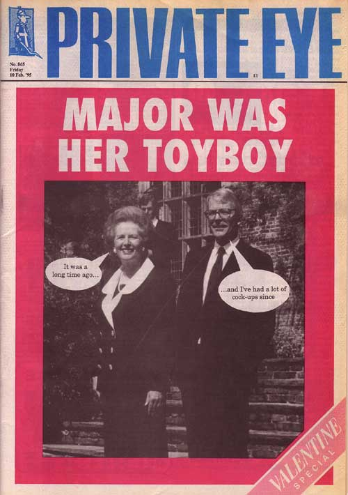 John Major Margaret Thatcher