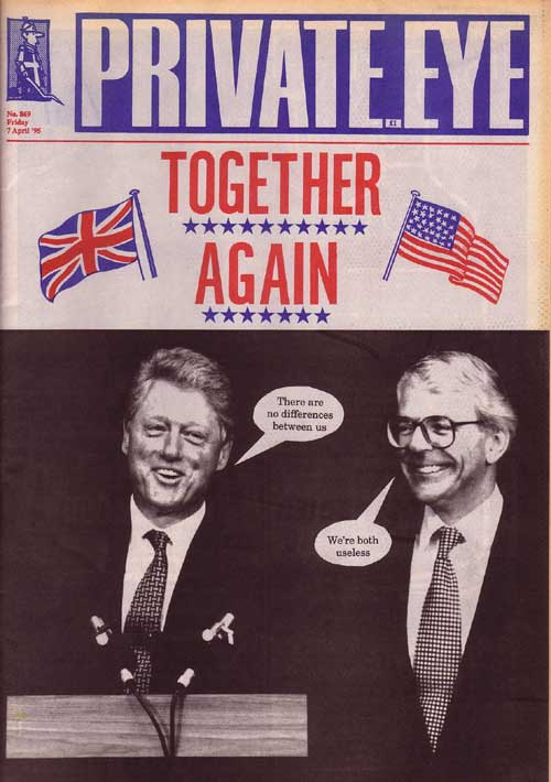 John Major Bill Clinton