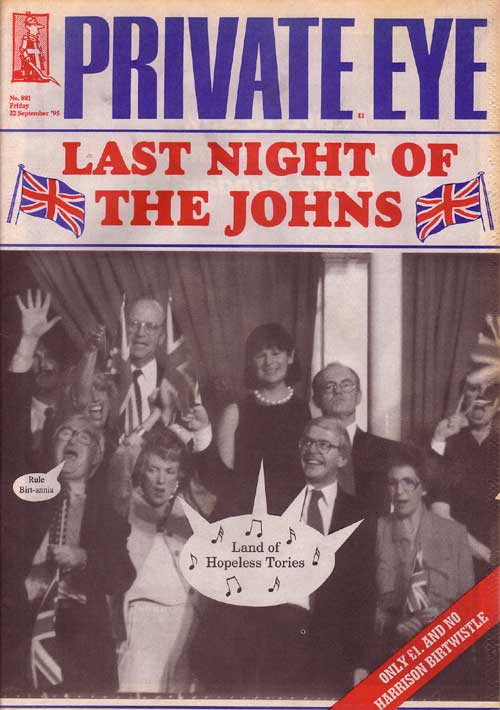 John Major Norma Major