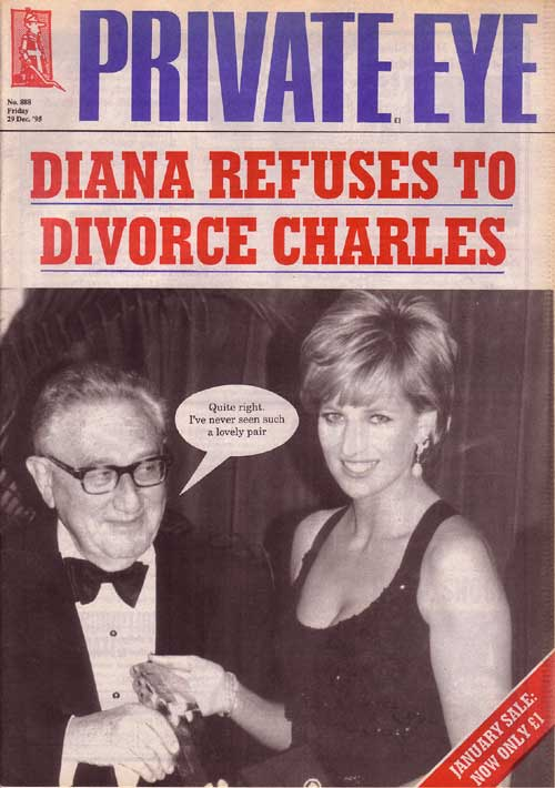 Princess Diana Henry Kissinger