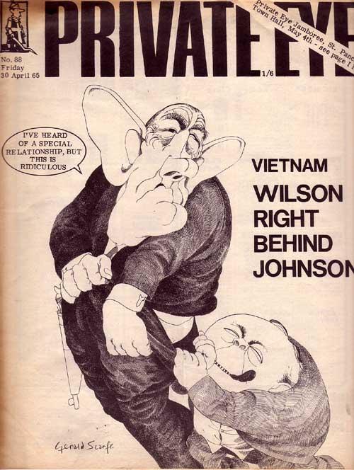 Lyndon B Johnson Harold Wilson