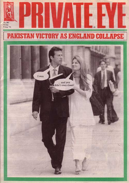Imran Khan Jemima Goldsmith
