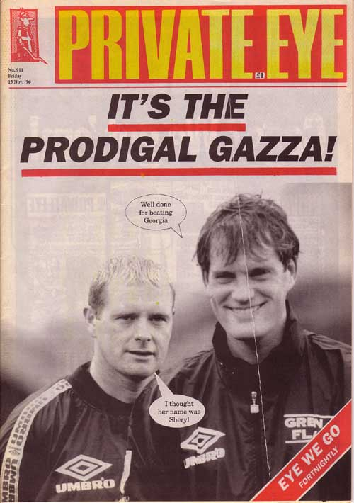 Paul Gascoigne Glenn Hoddle