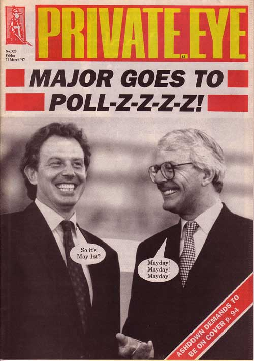 John Major Tony Blair