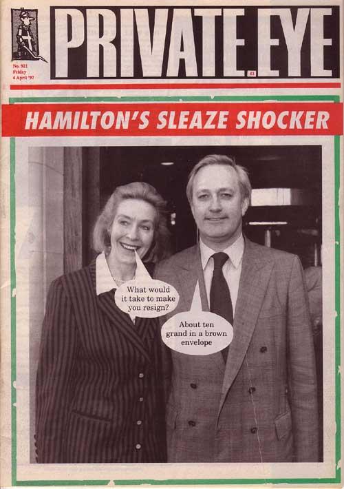 Neil Hamilton Christine Hamilton
