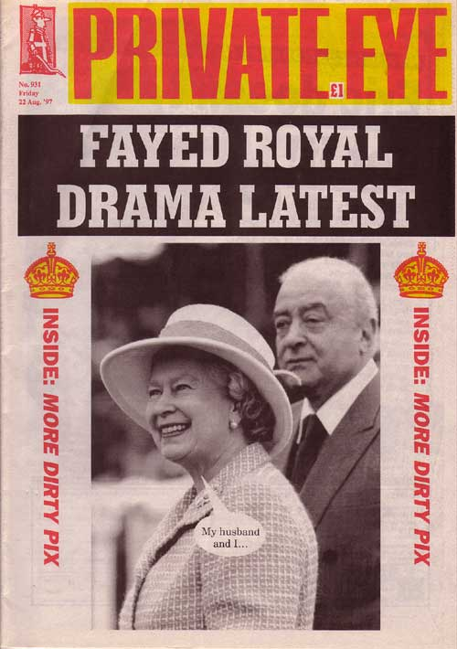 The Queen Mohamed Al Fayed