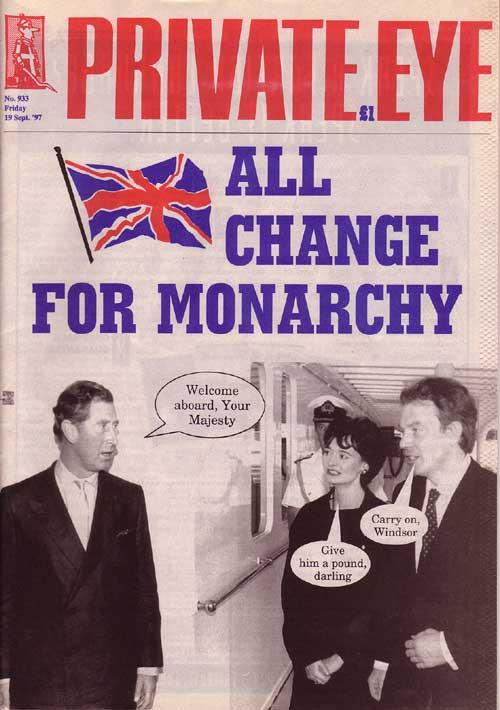 Prince Charles Tony Blair Cherie Blair