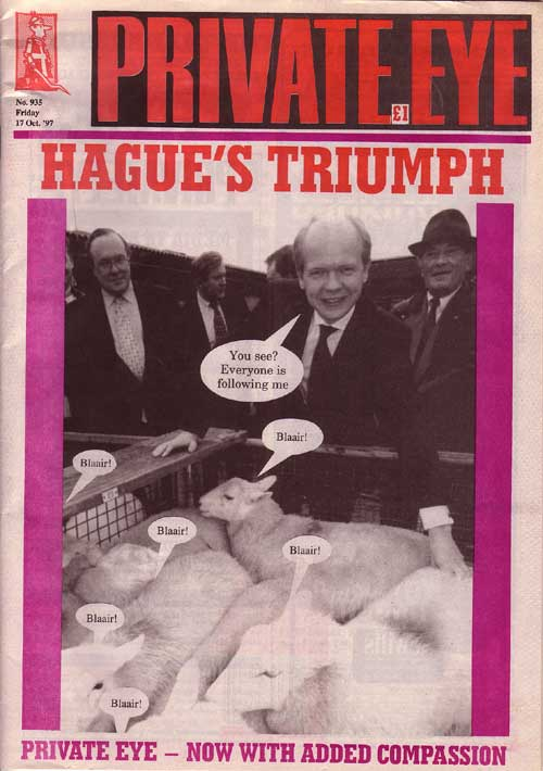 William Hague Michael Ancram