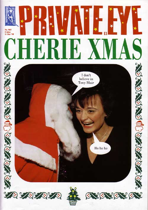 Cherie Blair Christmas