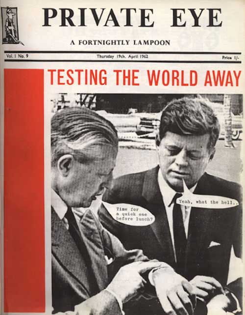Harold Macmillan John F Kennedy
