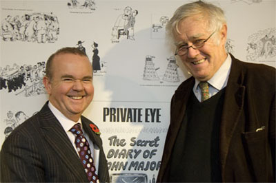 Paul Foot Awards 2009 Ian Hislop Richard Ingrams