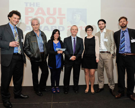 Paul Foot Award 2011