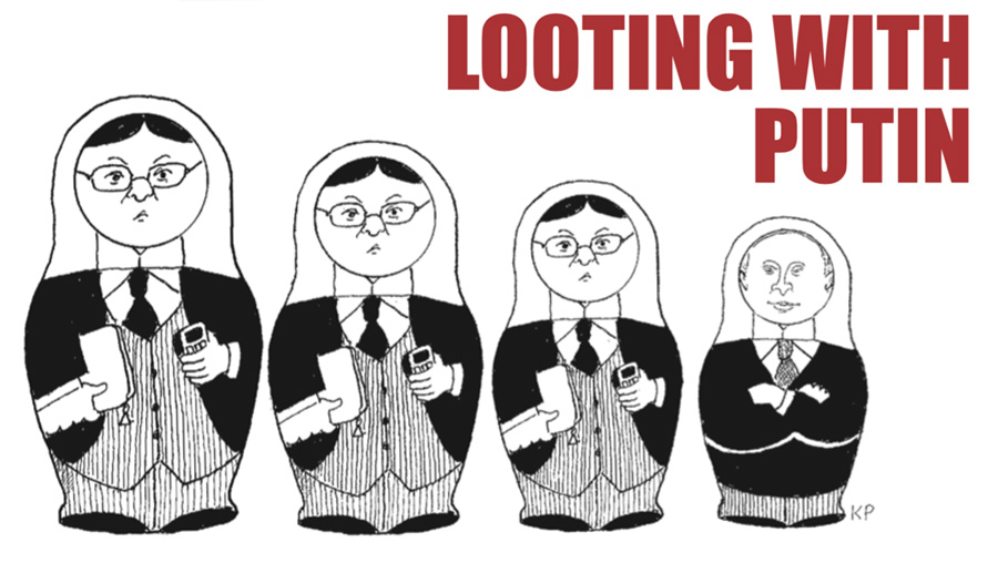 Looting With Putin